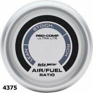 "Autometer Ultra-Lite Series 2 1/16"" Air/Fuel Ratio Gauge"