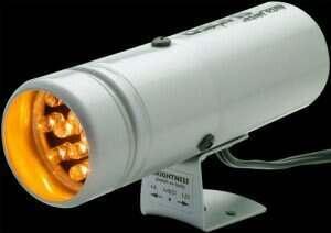 Autometer 12 LED Super-Lite Shift Lite (Silver)