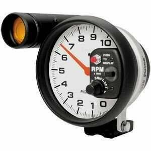 Autometer Phantom Series 10000 RPM Tachometer Monster Shift-Lite