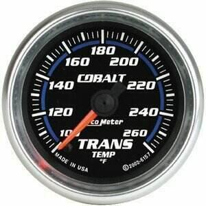 "Autometer Cobalt Series 2 1/16"" Electric Transmission Temp Gauge"