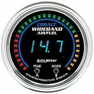 "Autometer Cobalt Series 2-1/16"" Digital Wideband Air/Fuel Ratio"