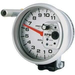 Autometer Ultra-Lite Series 11000 RPM Tachometer Single Range