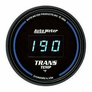 Autometer Cobalt Digital Series 0-300deg Trans Temperature Gauge