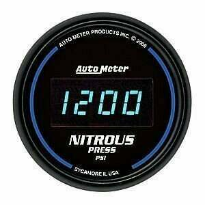 Autometer Cobalt Digital Series 0-2000psi Nitrous Pressure Gauge