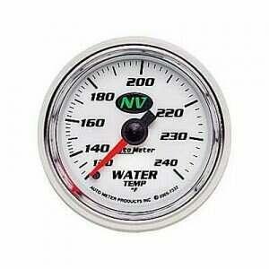 Autometer NV Series 120-240 deg. Mechanical Water Temp Gauge
