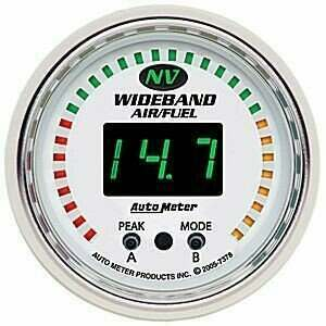"""Autometer NV Series 2-1/16"""" Wideband Air/Fuel Ratio Kit"""