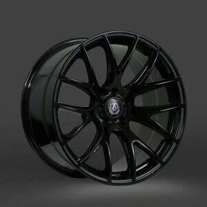 Lenso 05-2014 Mustang 20x8.5 Axe CS Lite Wheel (Gloss Black)