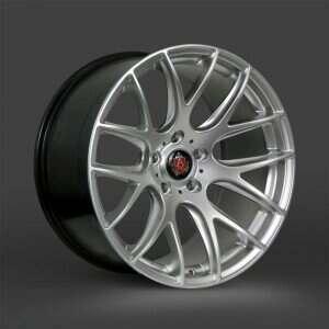 Lenso 05-2014 Mustang 18x8 Axe CS Lite Wheel (Hyper Silver)