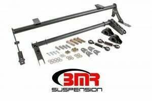 BMR 05-2014 Mustang XTREME Anti-Roll Bar Kit w/ Delrin Bushings (Black Hammertone)