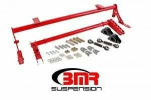 BMR 05-2014 Mustang XTREME Anti-Roll Bar Kit w/ Delrin Bushings (Red)
