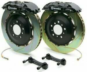 Brembo 94-04 Mustang Gran Turismo Front 355mm Brake Kit w/ 2pc Slotted Rotors and 4 Piston Calipers