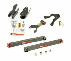 BMR 05-2010 Level 3 Rear Control Arm Package (Black Hammertone)