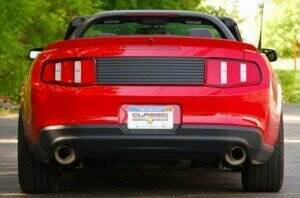 CDC 2010-2014 Mustang Deck Lid Trim Panel