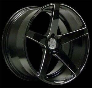Lenso 05-2014 Mustang 20x10.5 Conquista 7 Wheel (Black)