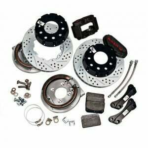 "Baer 4262280 13"" SS4+ Rear Brake Kit w/Park Brake (1994-2004 Mustang excl. IRS)"