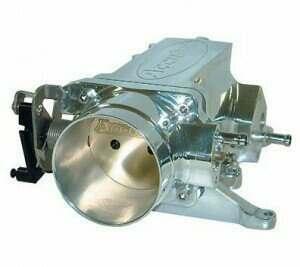 Accufab 75mm Polished Throttle Body & Plenum 96-04 GT