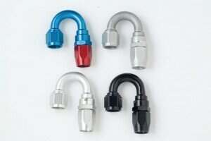 Fragola -10an 180 Degree Stainless Race Hose End