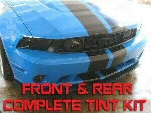 Anchor Room 2010-2012 Mustang Front & Rear Vinyl Tint Kit