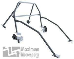 Maximum Motorsports Street Strip 6-point Mustang Roll Bar, E-Z-Remove Door Bars, Removable Harness Mount (2005-2014 Mustang Hardtop) - Mm5RB-24.5