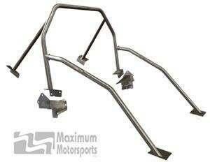 Maximum Motorsports Street Strip 6-point Mustang Roll Bar, Standard Door Bars, No Harness Mount (2005-2014 Mustang Hardtop) - Mm5RB-20.6