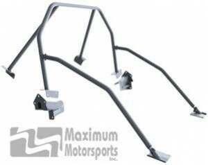 Maximum Motorsports Street Strip 6-point Mustang Roll Bar, E-Z-Remove Door Bars, No Harness Mount (2005-2014 Mustang Hardtop) - Mm5RB-24.6