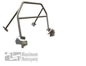 Maximum Motorsports Mm5RB-20.2 Sport 4-point Mustang Roll Bar, No Door Bars, Fixed Harness Mount (2005-2014 Mustang Hardtop) - MM5RB-20.2