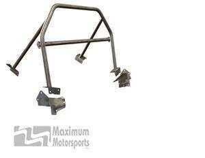 Maximum Motorsports Sport 4-point Mustang Roll Bar, No Door Bars, Removable Harness Mount (2005-2014 Mustang Hardtop) - Mm5RB-20.3