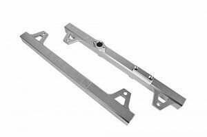 DivisionX GT500 High Flow Billet Aluminum Fuel Rails (Clear)
