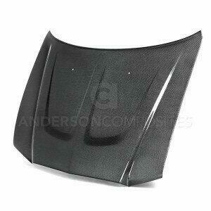 Anderson Composites AC-HD1113DGCR4D-OE 2011-2014 DODGE CHARGER CARBON FIBER TYPE-OE HOOD