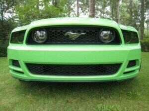 Anchor Room 2013-2014 Mustang Front & Rear Vinyl Tint Kit (with Tail Light Inserts)