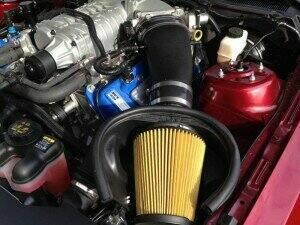 JLT JLTIK-GT500-10 2010-2014 Shelby GT500 Induction Kit (Black Textured Plastic)