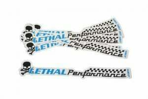 "Lethal Performance 12"" Vinyl Die-Cut Sticker"