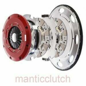 Mantic Street Triple Disc Clutch Kit 9000 Series (Challenger/Hellcat) M931CHALY