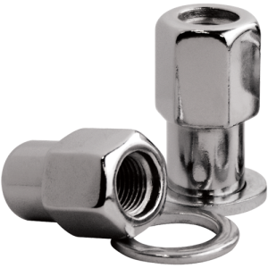 "Billet Specialties Mag Shank Open Ended Lug Nuts 1/2-20 x 1/2"" Long Shank (10 Pieces)"