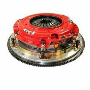 Mcleod 6344907M RXT Twin Disc Clutch Kit w/Aluminum Flywheel