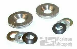 Maximum Motorsports 86-04 Mustang Steering Rack Bushing Upgrade Kit for Stock K Member - MMST-7.1
