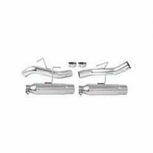 Moroso 05-2010 Mustang Spiral Flow Axle-Back Exhaust System