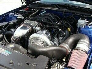 Paxton 2010 Mustang GT Novi 2200SL HO Complete Kit (Polished)