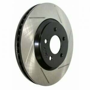 Powerslot 05-2014 Mustang Cryo-Treated Rotor (Front Left)