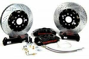 "Baer 1979-2004 Mustang 14"" Front Pro+ Brake System (Black Calipers)"