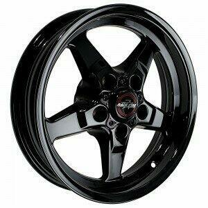 "Race Star Drag Wheel 17"" x 7"" - Dark Star Finish (1979-2014 Mustang, Excludes 2013-2014 GT500)"