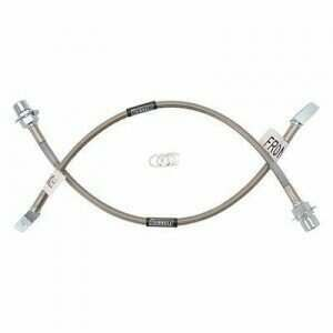 Russell 96-01 Cobra Braided Front Brake Lines