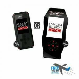 SCT Handheld Programmer with Palm Beach Dyno Custom Tune