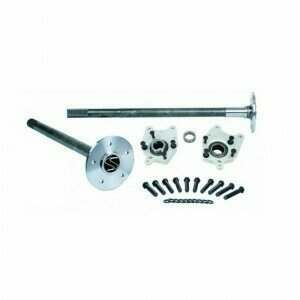 Strange P3509F94 8.8 35 Spline Alloy Axle Package with C-Clip Eliminators and Wheel Studs (94-04 Mustang)
