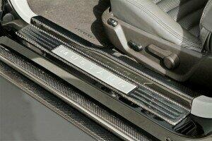 TruCarbon 2005-2014 Mustang Carbon Fiber LG108 Door Sills