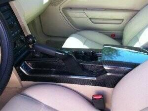 TruCarbon 2005-2009 Mustang Carbon Fiber LG95 Center Console
