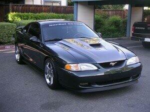 TruFiber 1994-1998 Mustang Fiberglass A36 Hood