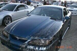 TruFiber 1994-1998 Mustang Fiberglass A49-3 Hood