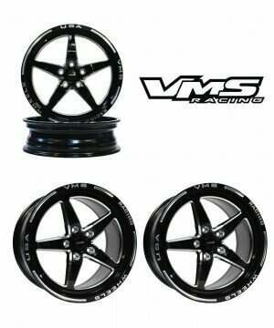 VMS Racing Front and Rear Street Drag Race Wheel Set (2005-2020 Mustang)