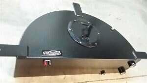 Tig Vision 05-2014 Mustang Spare Tire Intercooler Tank w/o Pump (Black Powdercoat)